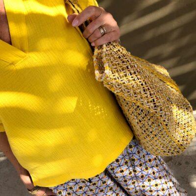 Emma Top – Yellow