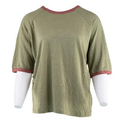 Ralph Linen T-shirt – Army
