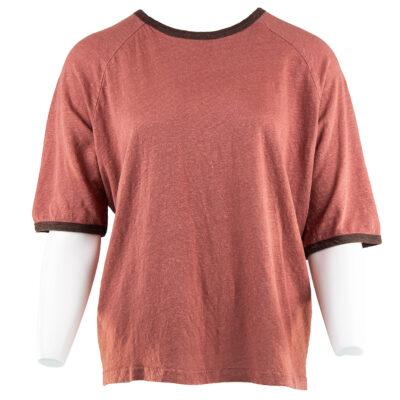 Ralph Linen T-shirt – Brick