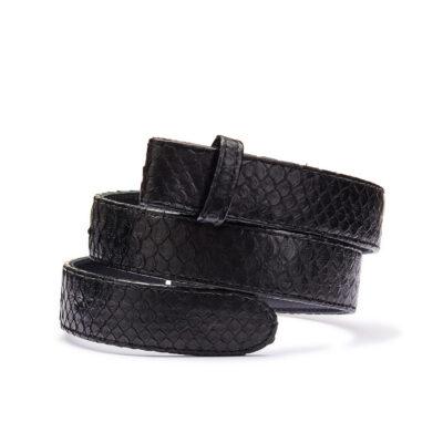 Black Python Belt