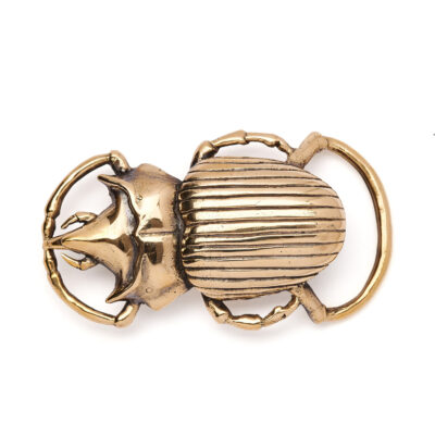 Golden Beetle Buckle