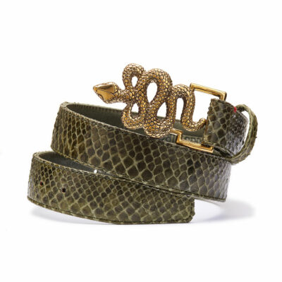 Army Python Belt