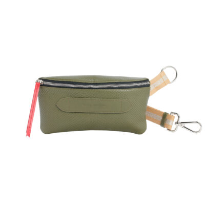 Coachella – Snake Effect Belt Bag – Khaki