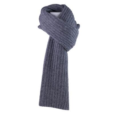 Chunky Knit Scarf Grey