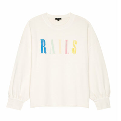 Rails Signature Sweater Ivory