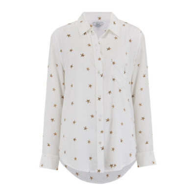Kate Ivory Animal Star Blouse