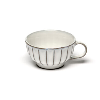Set of 4 Inku Cappuccino Cups White