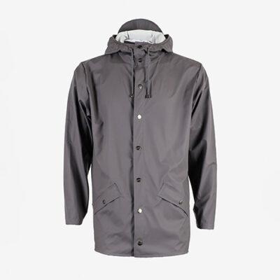 Rains Jacket Smoke