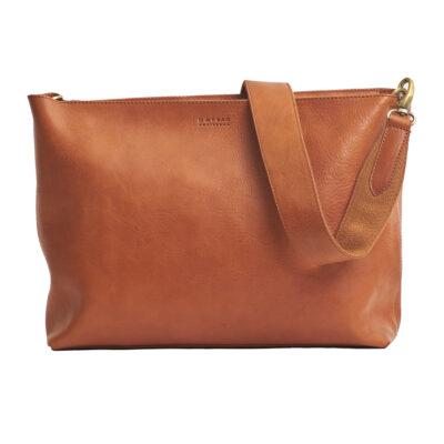 Olivia Full Leather Shoulder Strap