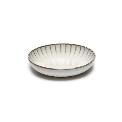 Set of 4 Inku High Plates S White
