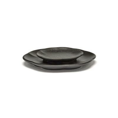 Set of 4 Inku Plates M Black