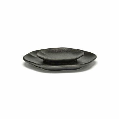 Set of 4 Inku Plates M Black