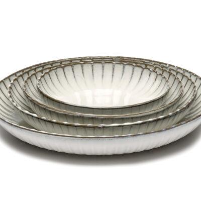 Inku Serving Bowl White 32cm