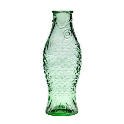 Bottle Transparent Green Fish and Fish