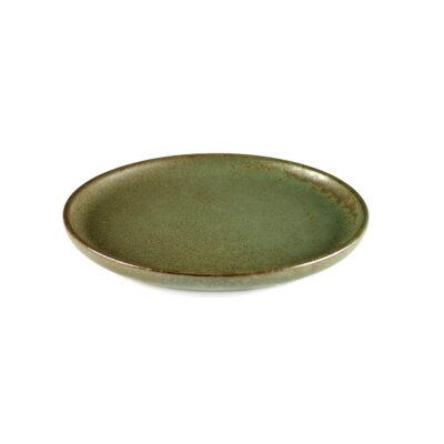 Set of 4 Surface Bread Plates Camo Green 16cm