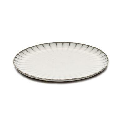 Set of 4 Inku Plates M White