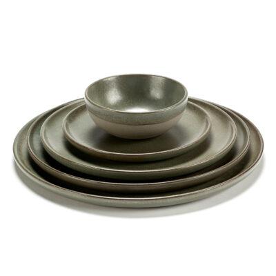 Surface Plate Camo Green 24cm