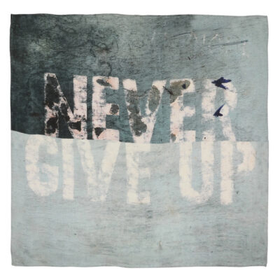 Never Give Up Bandana