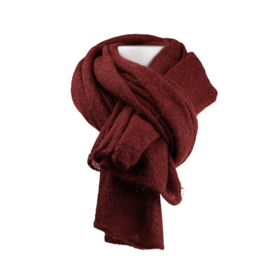 Ava Scarf – Stone Red
