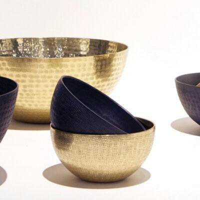 Medium Brass Moon Bowl