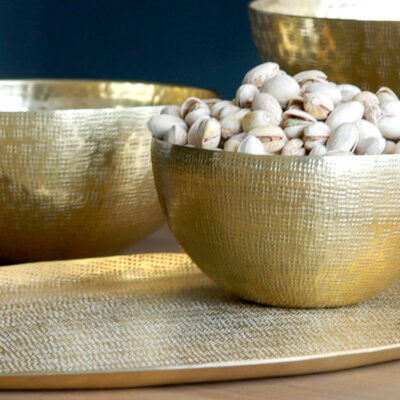 Small Brass Donna Tray