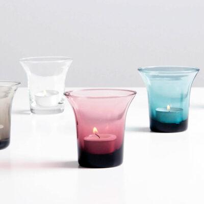 Set of 4 Host Glass Small Purple