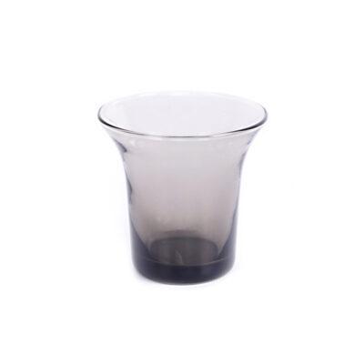 Set of 4 Host Glass Small Smoke Grey