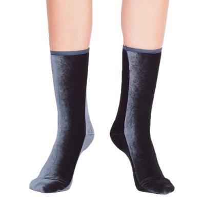Velvet Socks Anthracite