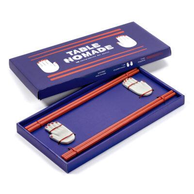 Chopstick Holder (2x) incl. Chopsticks (4x)