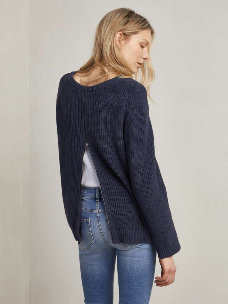Hunkydory Robyn Sweater Navy 4