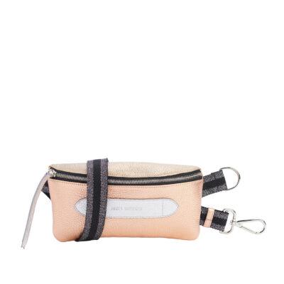 Coachella 3 Metals Grained Belt Bag