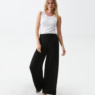 Susie Wide Leg Pant Black