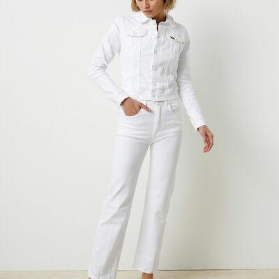 River Nicci White Jeans