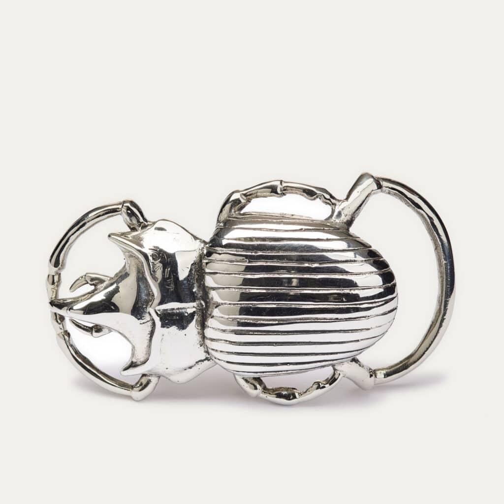 Silver Beetle Buckle