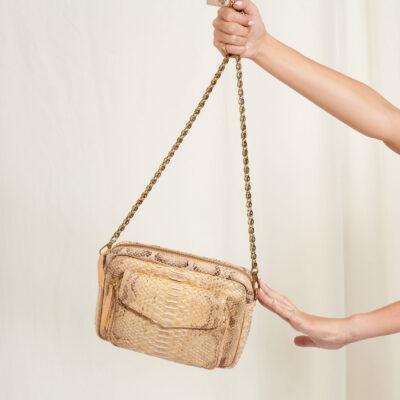 Charly Bag Pearl Python