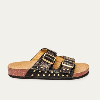 Odette Sandals Black