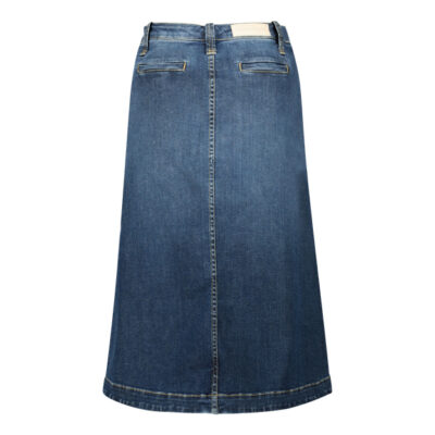 Jade Denim Skirt