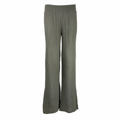 Susie Wide Leg Pant Olive