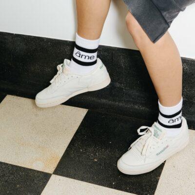 Diego Socks White