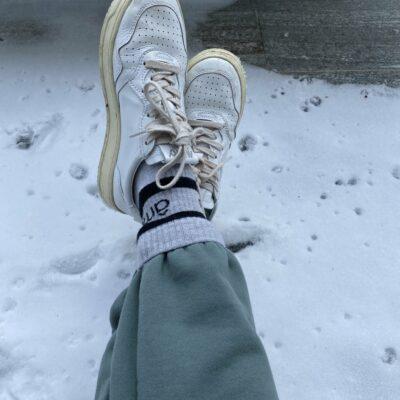 Diego Socks Marled Grey