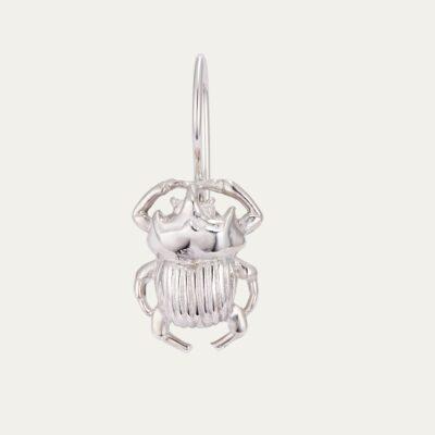Silver Beetle Cleo Earring