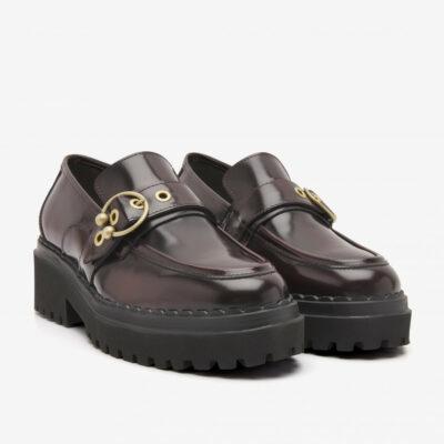 Fae Gatsby Bordeaux Loafers