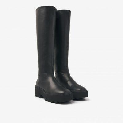 Fara Zip Black Boots