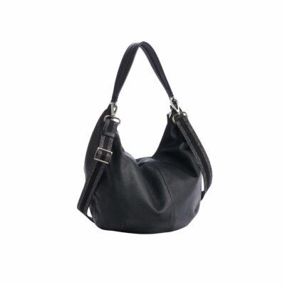 Hobo Black Handbag